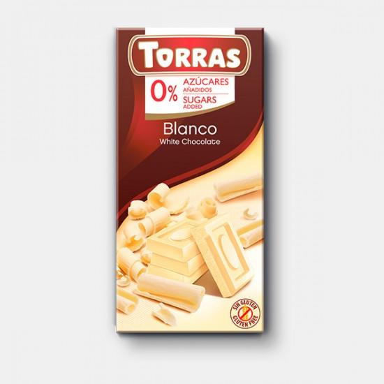 CHOCOLAT BLANC 75 Gr