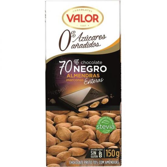CHOCOLAT AUX AMANDES VALOR...