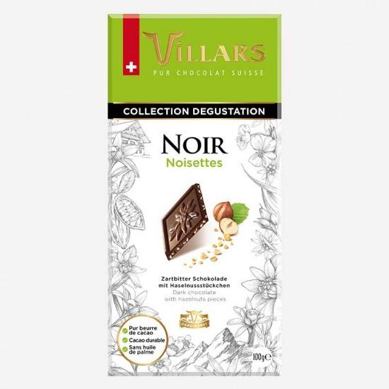CHOCOLAT NOIR AUX NOISETTES...