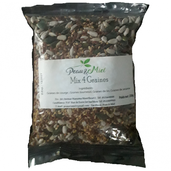 Mix 4 Graines 250gr
