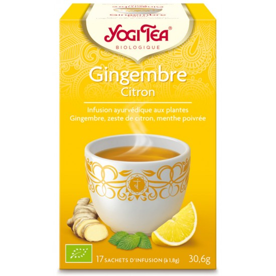 Infusion Gingembre Citron...